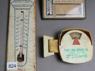 STANDARD OIlS TIN THERMOMETER AND CANADA TRUST