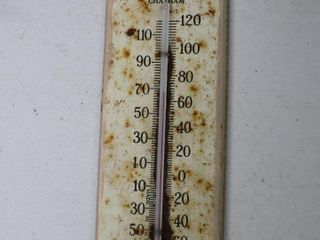 WHOlESAlE BAKERS TIN THERMOMETER lONDON  CHATHAM