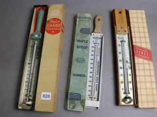 3 MAPlE SYRUP THERMOMETERS