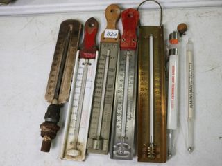 ASSORTED MAPlE SYRUP AND CANDY THERMOMETERS 12
