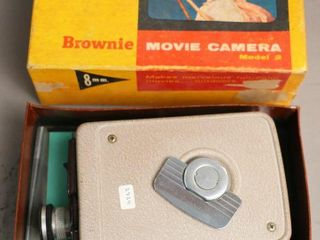 BROWNIE MOVIE CAMERA AND BOX