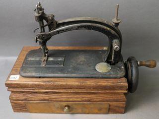 VINTAGE OSBORN HAND SEWING MACHINE