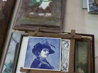lARGE ASSORTMENT OF FRAMES  PICTURES ETC