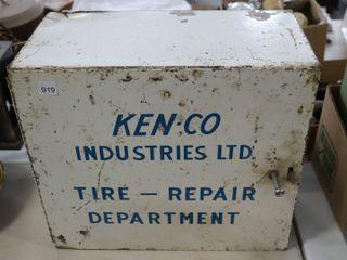 KEN CO INDUSTRIES lTD TIN TIRE REPAIR DEPARTMENT