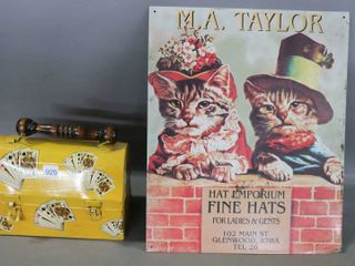 VINTAGE lUNCH PAIl  AND REPRODUCTION M A  TAYlOR