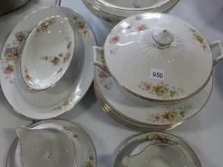 PARTIAl SET OF H G HEINRICH DISHES