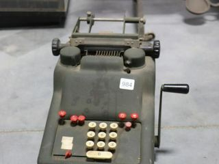 CAST ADDING MACHINE
