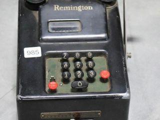 REMINGTON ADDING MACHINE