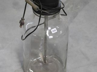 EARlY GlASS JAR WITH ElECTRIC MIXER 21