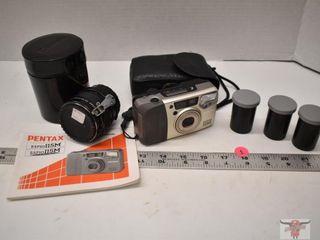 Pentax 35mm Camera, lens & Film