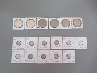 lot  Canadian Coins   Monnaie canadienne