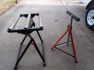 Roller Stands for guttering