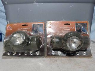 lot of 2 Night Blaster Camo Headlamps