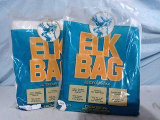 Elk Bags  Game Bag hunting x 2