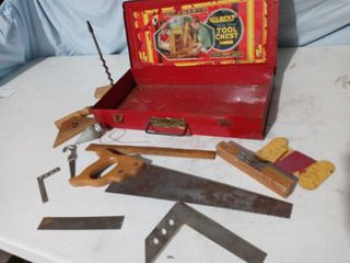 Vintage Gilbert Big Boy Tool Chest Box