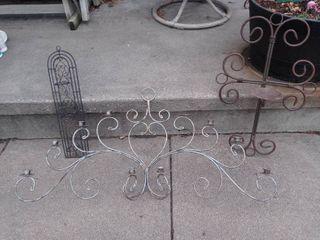 Metal wall art lot