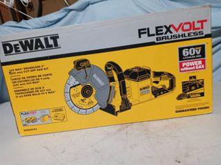 Dewalt Flexvolt Brushless Cut off Saw kit