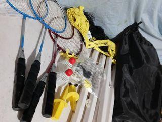 Badminton Backyard set game with bag
