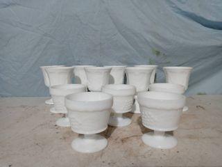 Beautiful White Wine Glassware set