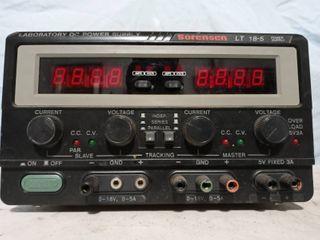 Vintage Sorensen DC Power supply amp