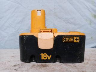 Ryobi 18V battery