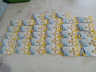 Hearing aid batteries lot 33 packs