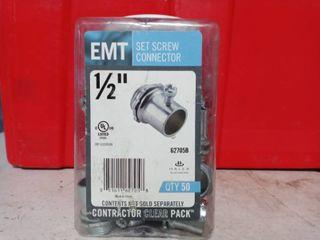 1 2  Set Screw connectors