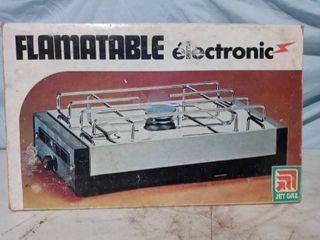 Vintage Portable Stove Flamatable by Jet Gaz