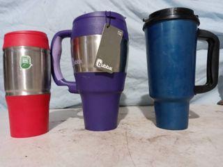 3 Tumbler Cups