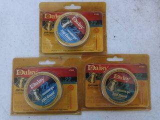 Daisy  22 Pellets lot