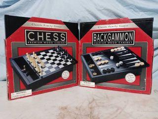Chess   Backgammon lot