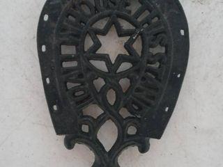 Horseshoe Iron Trivet