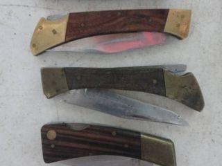 Pocket Knifes 5 lot