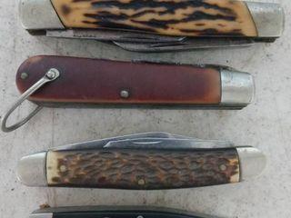 Pocket Knife lot 4
