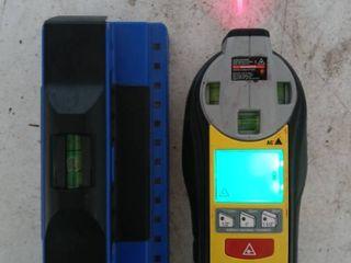 laser level   Stud finder