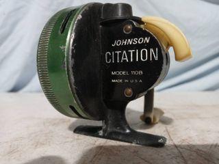 Vintage Johnson Citation Fishing Reel 110B