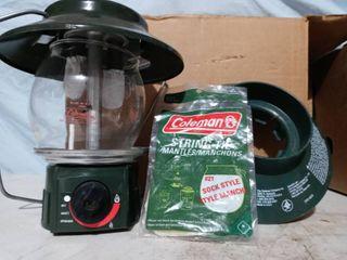 Coleman Glass lantern