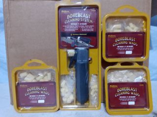 Boreblast Cleaning System CO2 dispenser   Wads for Rifles gun lot