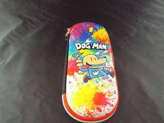 Dog man pencil case