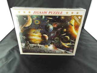 Jigsaw puzzle 1000 pcs outer space theme