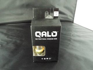 Qalo the functional wedding ring  size 5