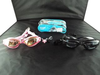 2 pack adult swimming goggles