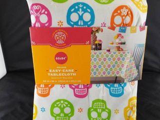 DIA DE MUERTOS oblong easy care tablecloth