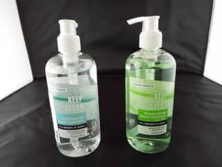 2   Moisturizing hand sanitizer