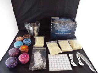 DIY candle making kit   set of 8