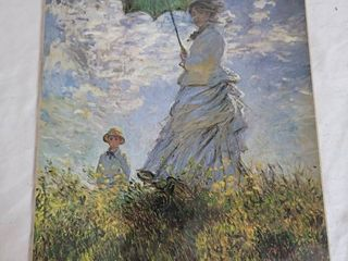 Reproduction of Monet Woman with Parasol