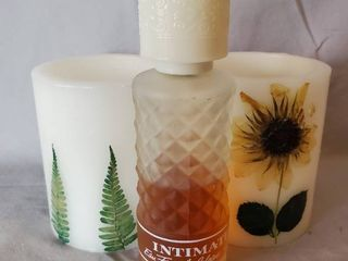 Sunflower Theme Battery Candles and Intimate Perfume