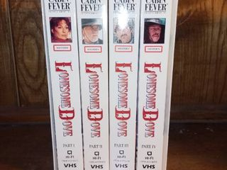 lonesome Dove 4 VHS Set