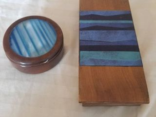 Two Cool Wooden Boxes