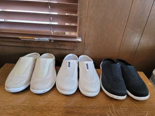 lot of 3 Gently Used Ryka Slides Womans Size 9